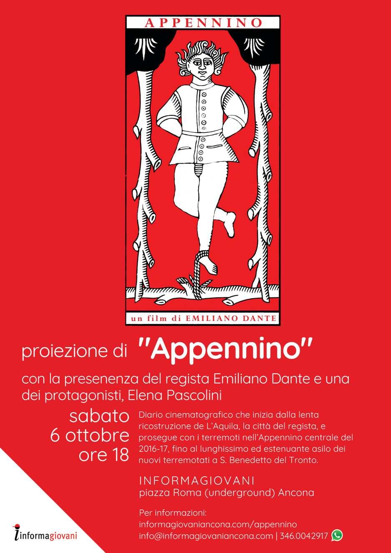Film documentario Appennino Emiliano Dante Informagiovani Ancona